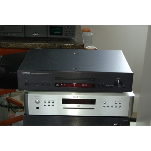 Yamaha CD-N500: cd player with built in streamer