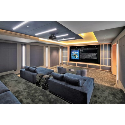 We do Custom Home and Commercial Audio and Video installation's and Home Theater